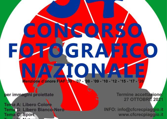 34° CONCORSO FOTOGRAFICO NAZIONALE
