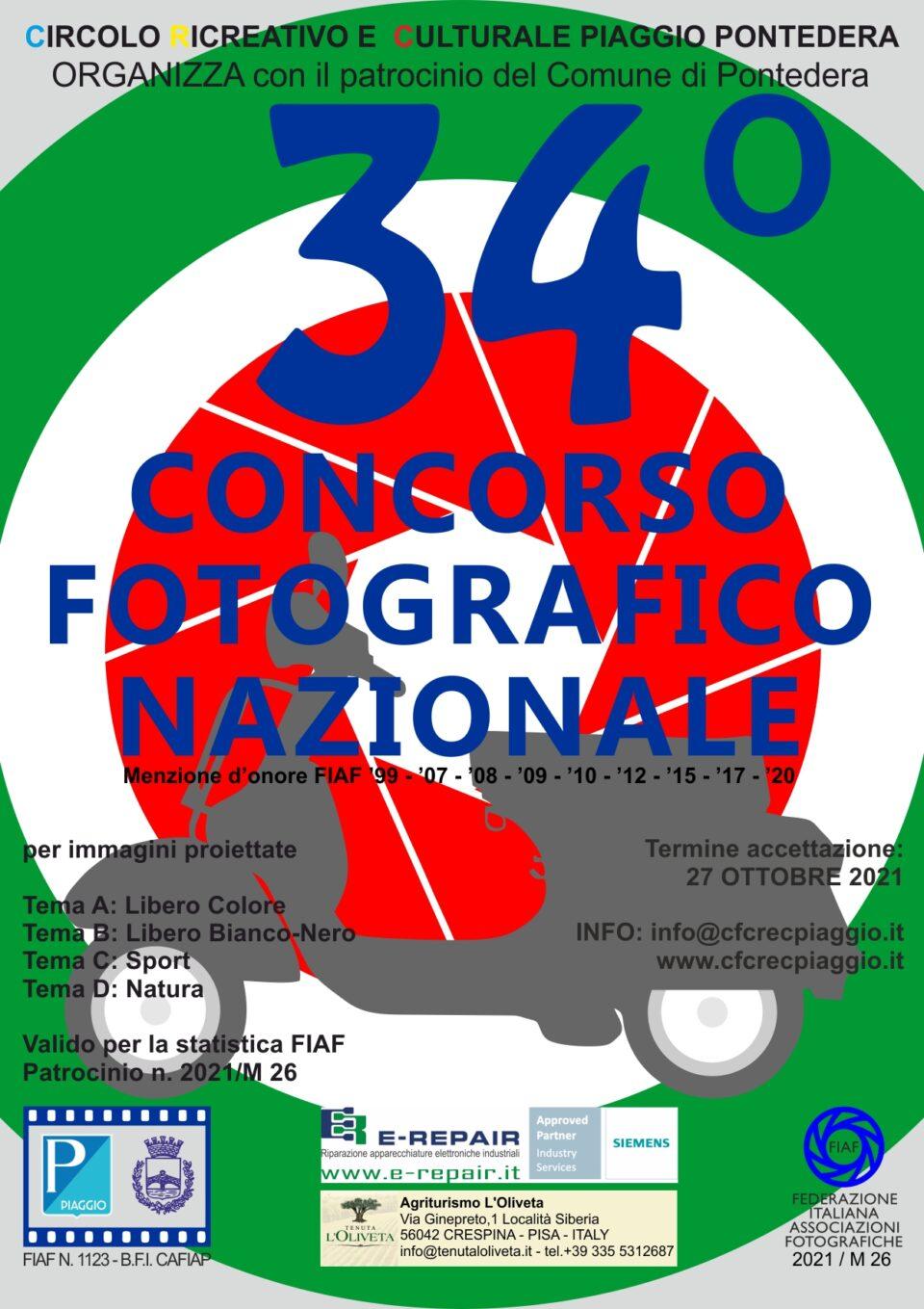 locandina 34 concorso nazionale